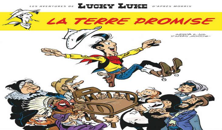 «Lucky Luke et les Juifs, c'est comme une évidence», «La Terre Promise»