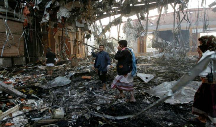 La coalition militaire arabe admet une bavure après le carnage de Sanaa, faisant 140 morts et 525 blessés