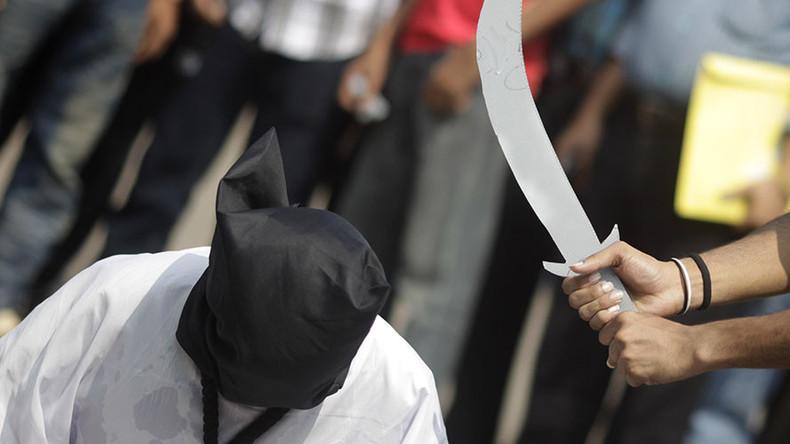 Arabie Saoudite : Cinq saoudiens et un pakistanais ont été exécutés aujourd'hui, ce qui porte à 44 le nombre d'exécutions menées depuis le début de l'année