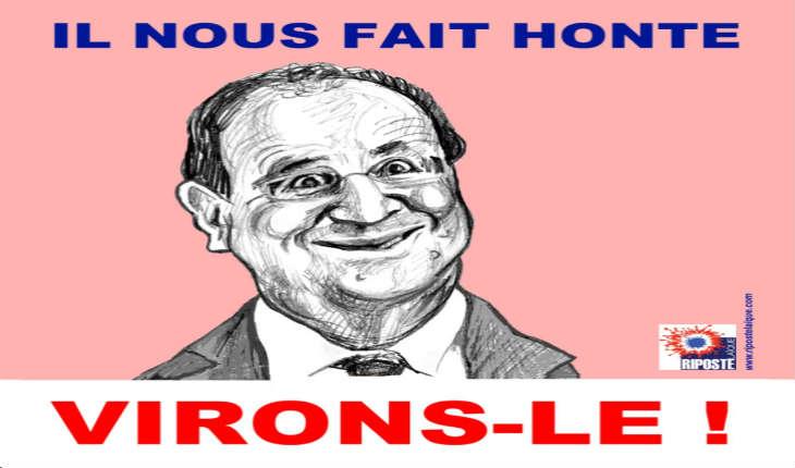 «Il va falloir s'en débarrasser» : la sentence d'un ministre sur Hollande