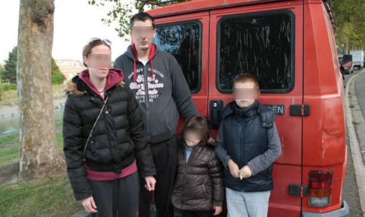 Trouville : «pas de chance», cette famille qui vit dans une camionnette ne vient pas de Calais …