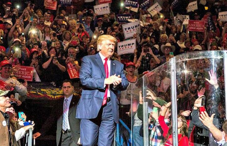 Selon un système d'intelligence artificielle Trump va gagner l'élection, il est plus populaire que Barack Obama en 2008
