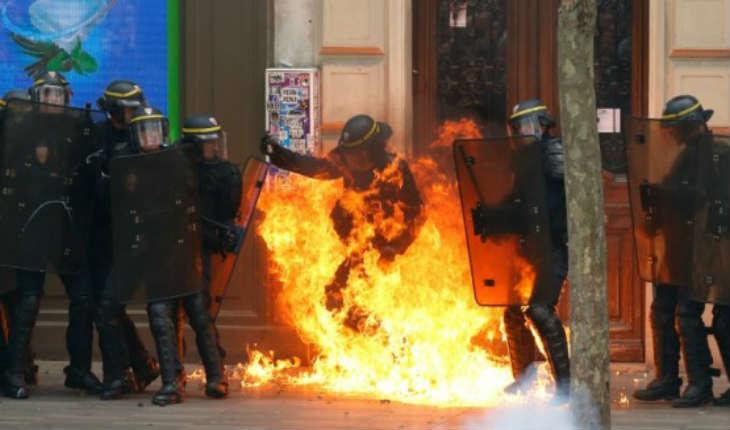 Essonne/Viry-Châtillon: deux policiers gravement brûlés par des cocktails Molotov