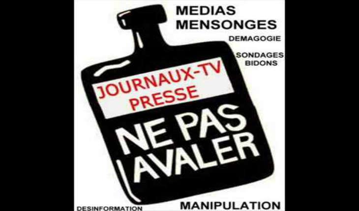 Les mensonges des Médias Français ou «La bonne vieille technique chère à Goebbels,mentir, encore mentir, toujours mentir !»