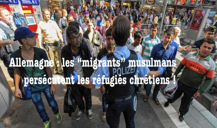 Allemagne: Une ONG alerte sur les agressions de réfugiés chrétiens par leurs «compagnons d'infortune» musulmans