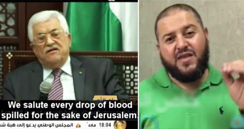 Le «héros» des Palestiniens : « Nous sommes fiers de toi tu as tué des Juifs ! »
