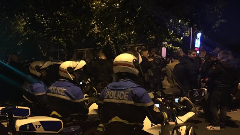 [Vidéo] Manifestation de policiers sur les Champs-Elysées contre les violences anti-flics. Europe Israël apporte son soutien à la police