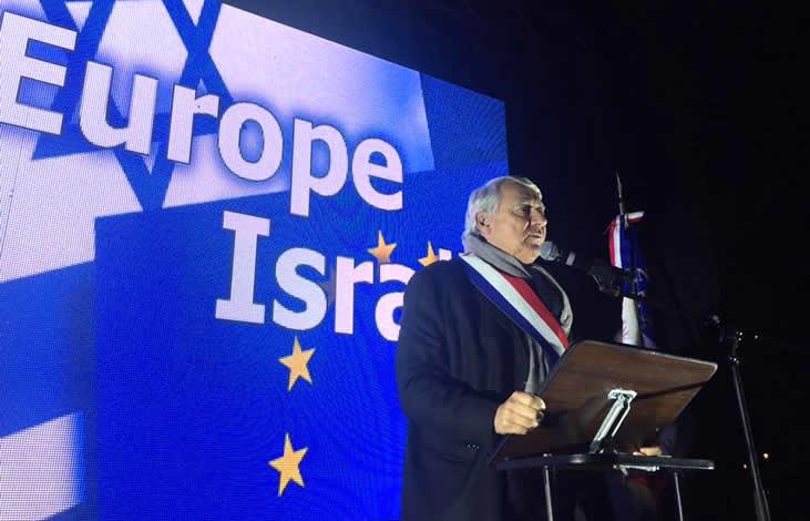 UNESCROC : 3000 personnes manifestent contre l'abstention de la France lors du vote sur Jérusalem. Pas un média «officiel» ne couvre l'évènement… [Photos]