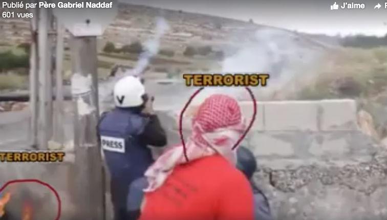 [Vidéo] L'envers du décor en «Palestine» : mise en scène médiatique où journalistes européens et terroristes palestiniens travaillent ensembles pour diaboliser Israël