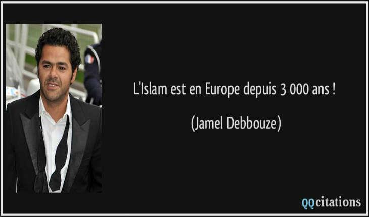 Pour le «grand penseur» Jamel Debbouze s'attaquer à la Burqa est «xénophobe et raciste»
