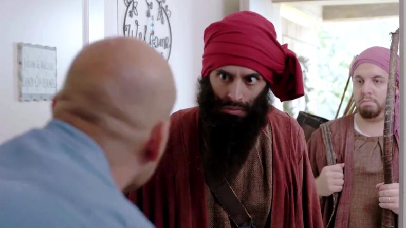 [Vidéo] Humour : L'histoire du peuple Juif en Israël envahit par différents peuples, racontée avec l'humour Juif