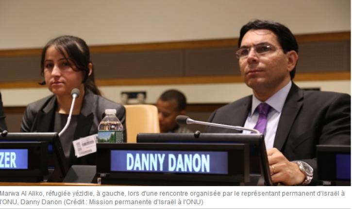 Israël présente de « nouvelles preuves » à l'ONU selon lesquelles l'Iran arme le Hezbollah