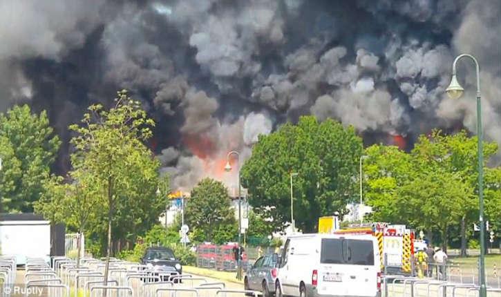 Les migrants incendient leur centre parce qu'il n'y a pas assez de Nutella : 10 millions d'euros de dégâts !