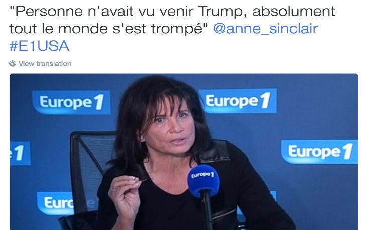 Mensonge Madame Sinclair ! Pourquoi Europe Israël est l'un des seuls sites d'information à avoir prédit la victoire de Trump ?