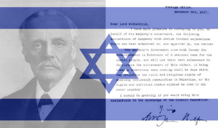 Balfour et les véritables objectifs des palestiniens