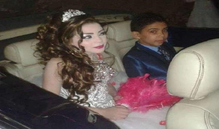 Les fiançailles de deux enfants de 11 et 12 ans en Égypte indignent