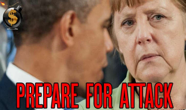 «Angela Merkel, le pilier d'un complot européen anti-Trump?»