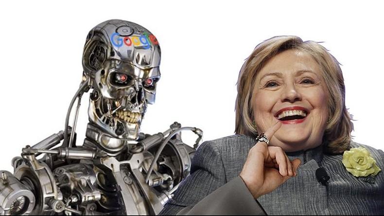 Elections américaines : L'algorithme de recherche de Google jouerait un rôle pour favoriser Clinton