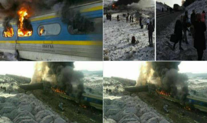 [Vidéo] Iran: collision entre deux trains, une trentaine de morts