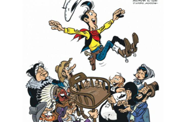 Livre : Lucky Luke chez les Juifs «La terre promise»