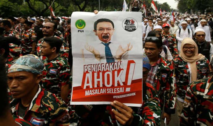 Le gouverneur chrétien de Djakarta inculpé pour « blasphème »