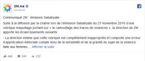 polemique-au-maroc-apres-la-diffusion-a-la-television-dune-demonstration-de-maquillage-pour-femmes-battues
