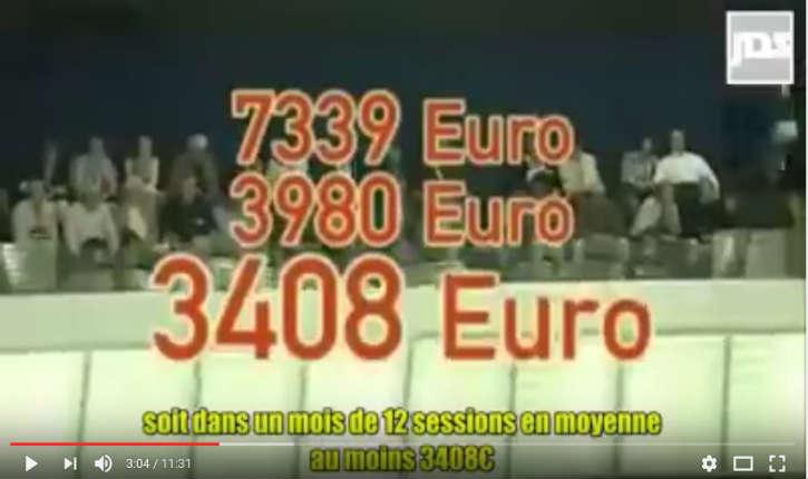 [Vidéo] Corruption massive au Parlement européen. Où vont passer nos 21 Milliards d'euros ?