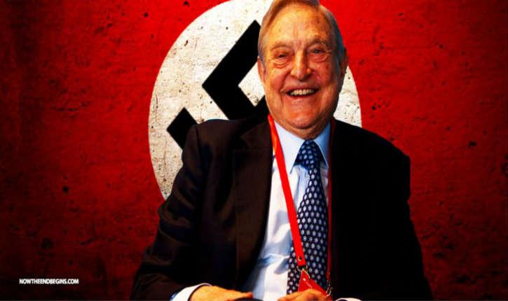 Le nazi George Soros jure de «démolir» le Président Trump