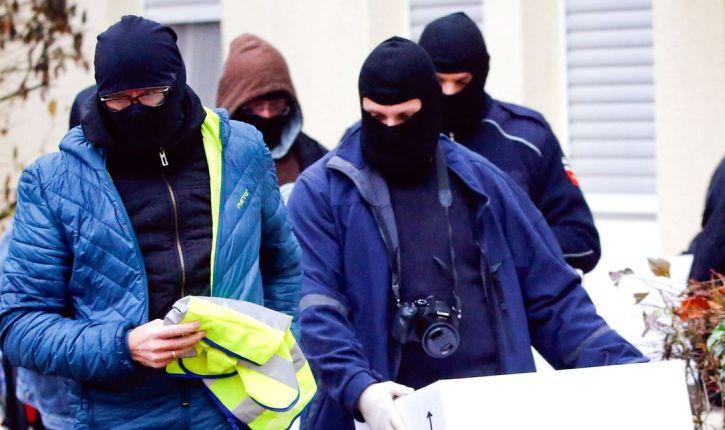 [Photos] Allemagne: coup de filet contre un groupe accusé d'enrôler pour l'Etat islamique