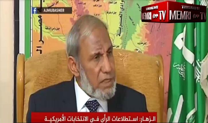 [Vidéo] Le chef du Hamas, Mahmoud Al-Zahhar : Trump est peut-être juif