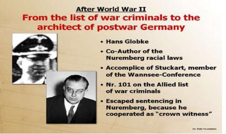 Berlin va enquêter sur l'influence des réseaux nazis à la chancellerie. Enfin!