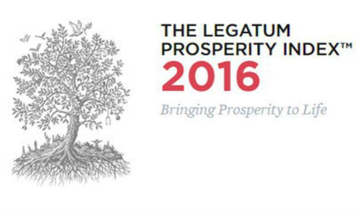 Indice 2016 de prospérité dans le monde : Israël 1ère au Proche Orient et 40e au monde