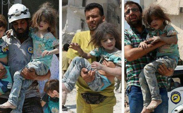 Propagande anti israélienne de L'ONU : Pour illustrer Gaza, l'UNRWA utilise la photo d'une fillette syrienne