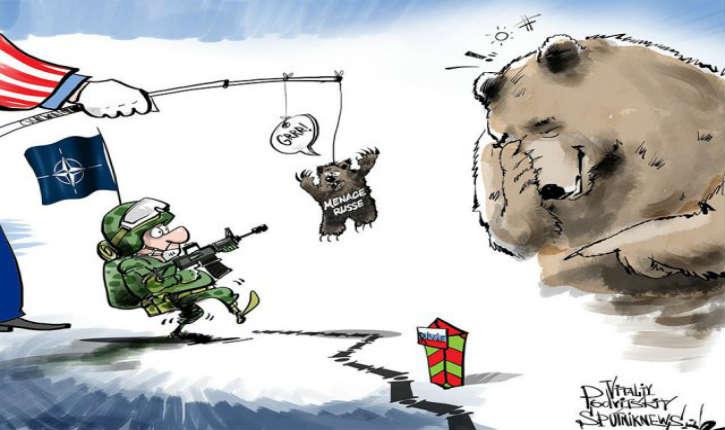 L'OTAN panique…