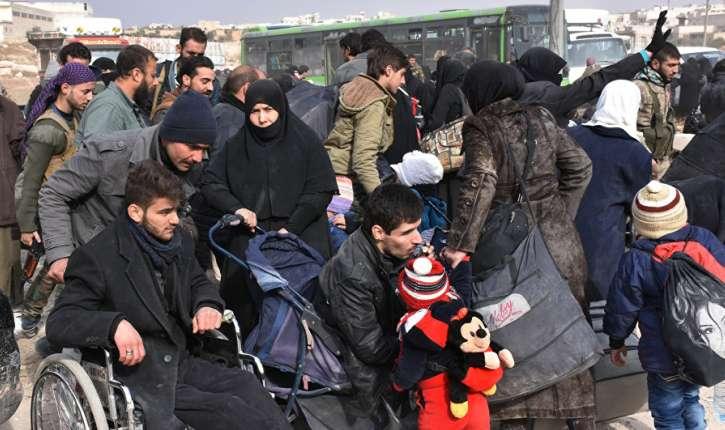 [Vidéo] Comme le Hamas à Gaza, l'Etat islamique à Alep-est, empêche les civils de fuir les zones de combats