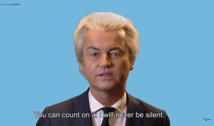 Par Geert Wilders, après sa Condamnation : «Ensemble nous vaincrons»