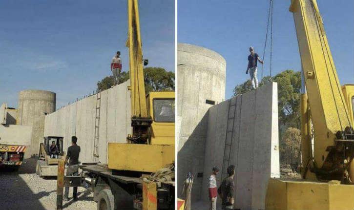 Au Liban mur de béton, en Israël mur de séparation