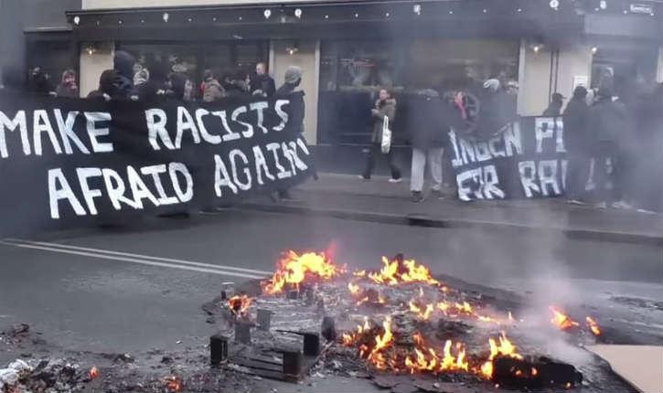 [Vidéo] Copenhague : les membres de PEGIDA s'affrontent contre les partisans de l'immigration