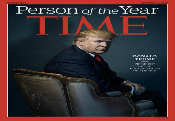 Donald Trump désigné personnalité de l'année 2016 par le magazine Time