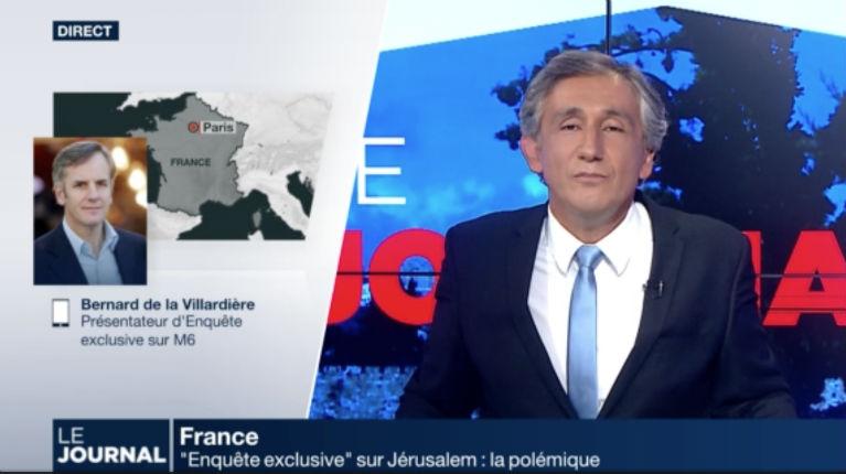 [Vidéo] De La Villardière s'explique sur Enquête exclusive mensonger sur Jérusalem. Le professeur Michael Bar Zvi un documentaire «entièrement à charge. Il n'y a jamais eu 110 000 morts»