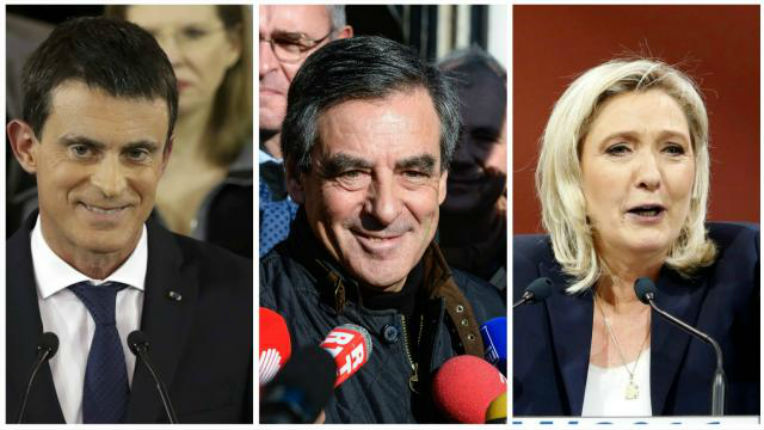 Sondage : Fillon et Le Pen au second tour dans toutes les hypothèses