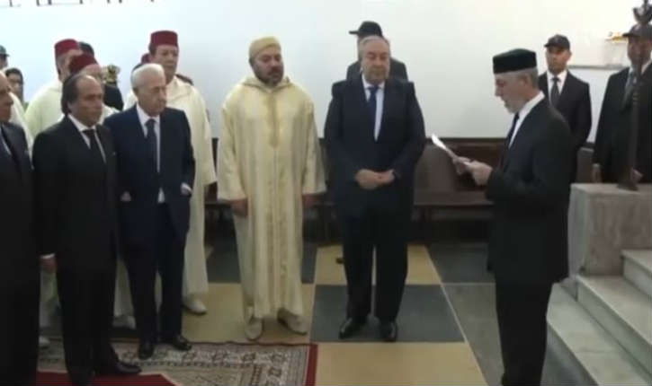 [Vidéo] Casablanca : le roi du Maroc Mohammed VI, s'est déplacé dans l'ancienne synagogue de la Médina