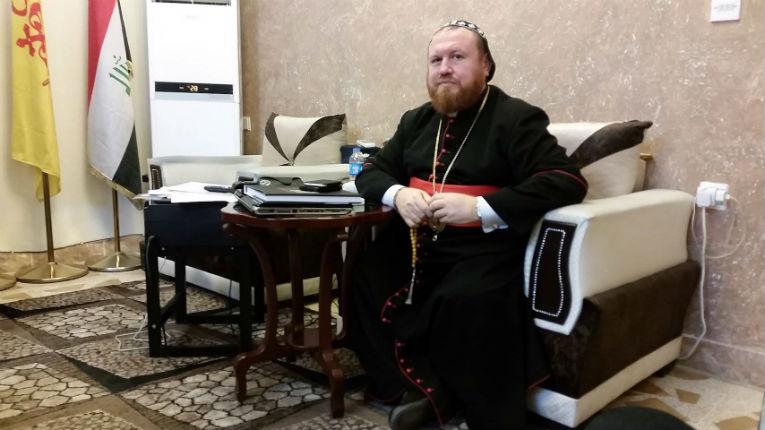 Irak: Monseigneur Daoud Sharaf : « Réveillez-vous. N'acceptez pas chez vous les réfugiés qui ont fait de nous des réfugiés ici »