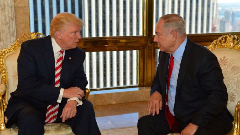 Avant la rencontre Trump – Netanyahu