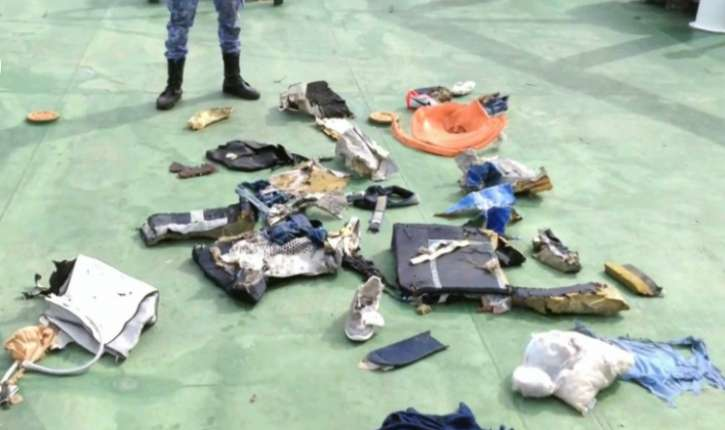 Traces d'explosifs sur des victimes du crash du vol EgyptAir Paris-Le Caire