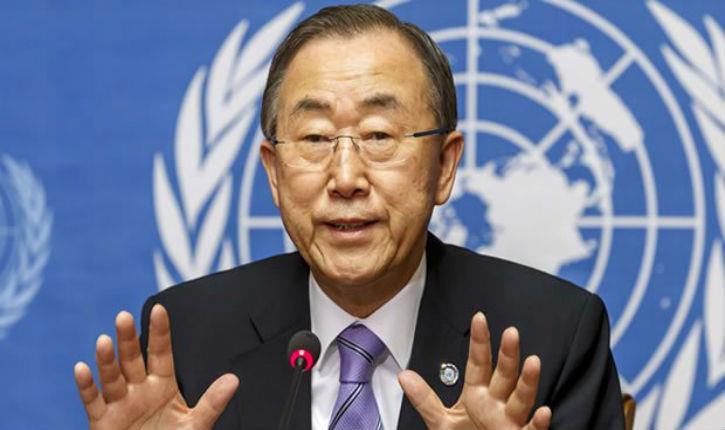 Aveu tardif de Ban Ki-moon : « Des décennies de manœuvres politiques ont créé une quantité disproportionnée de résolutions critiquant Israël »