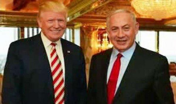 Netanyahu et le président Trump vonts'entretenir ce soir pour la 1ère fois