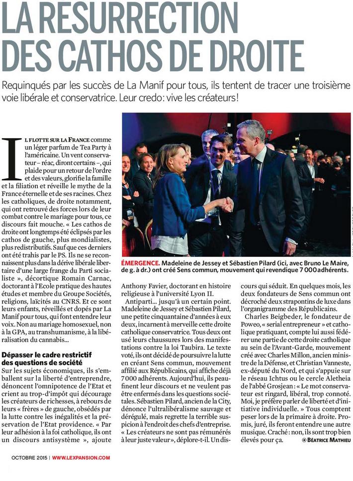 Les cathos français en politique. Bonne ou mauvaise chose ?