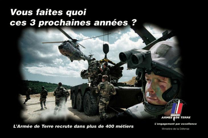 Depuis les attentats, de plus en plus de Français s'engagent dans l'armée pour combattre contre les djihadistes