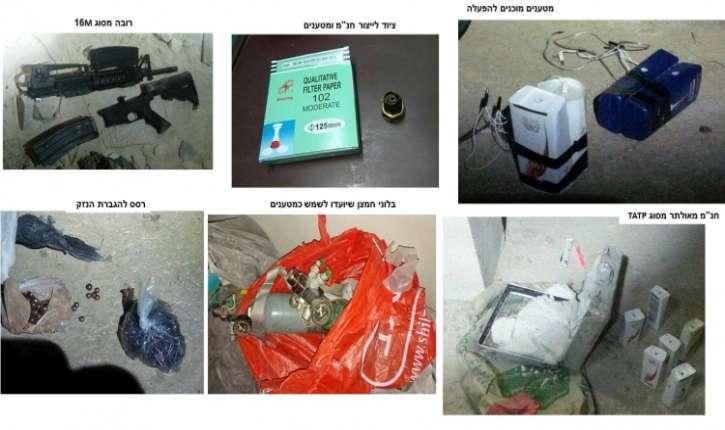 Israël: Un réseau terroriste palestinien qui préparait des attentats-suicides en Judée-Samarie, démantelé